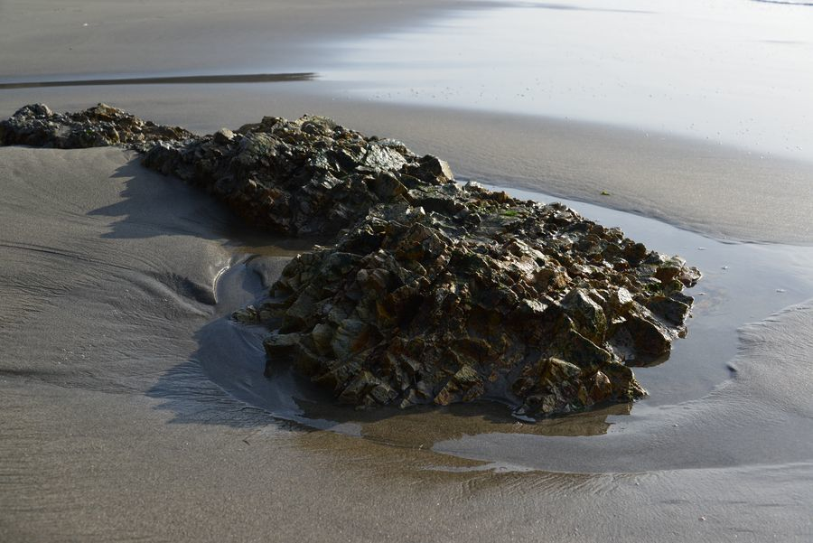 岩と砂-4