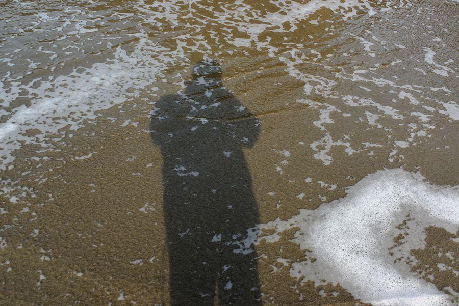 波打ち際散歩-2