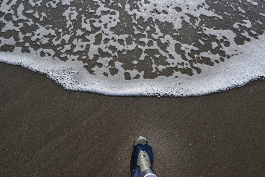 波打ち際散歩-6