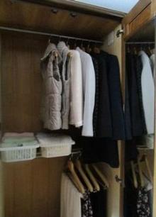 冬服のクローゼット【2階】