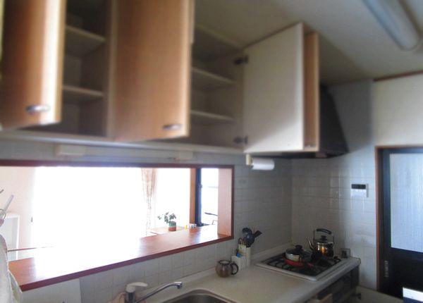 リフォーム前の断捨離 片付け キッチン (2)