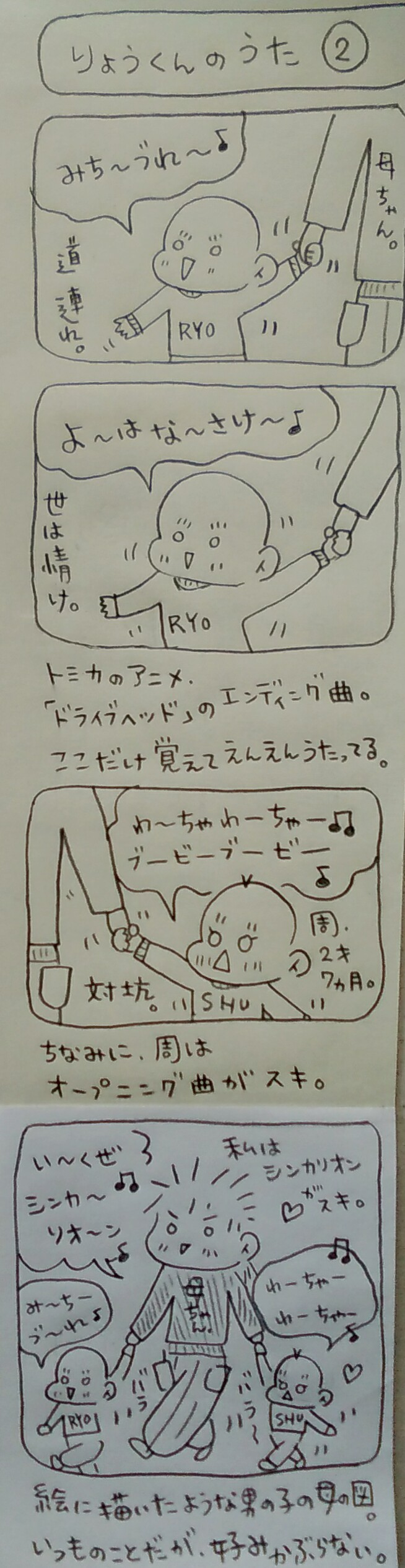子育てマンガ ドライブヘッド シンカリオン アニメ 男の子