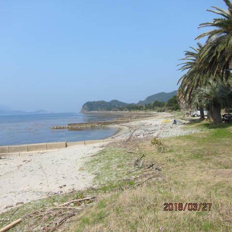 青海湖の砂州
