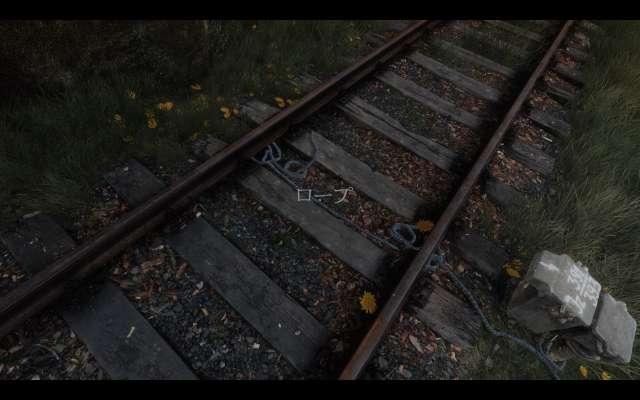 The Vanishing of Ethan Carter ゲーム画面(日本語化)