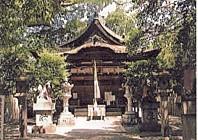 信太森神社本殿