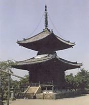 叡福寺多寶塔