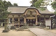 龍田神社拝殿