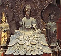 法隆寺釋迦三尊