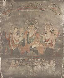 法隆寺金堂1号壁画釋迦淨土