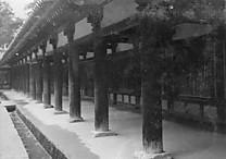 法隆寺廻廊エンタシス
