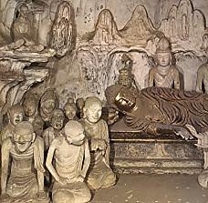 法隆寺五重塔釋迦涅槃塑像