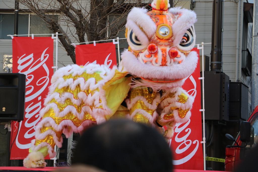 横濱中華學院校友会の獅子舞(4)_15