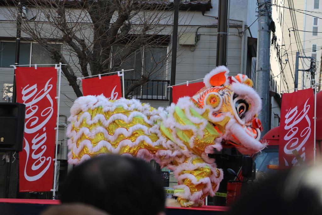 横濱中華學院校友会の獅子舞(4)_20