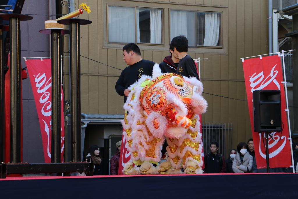 横濱中華學院校友会の獅子舞(1)_3