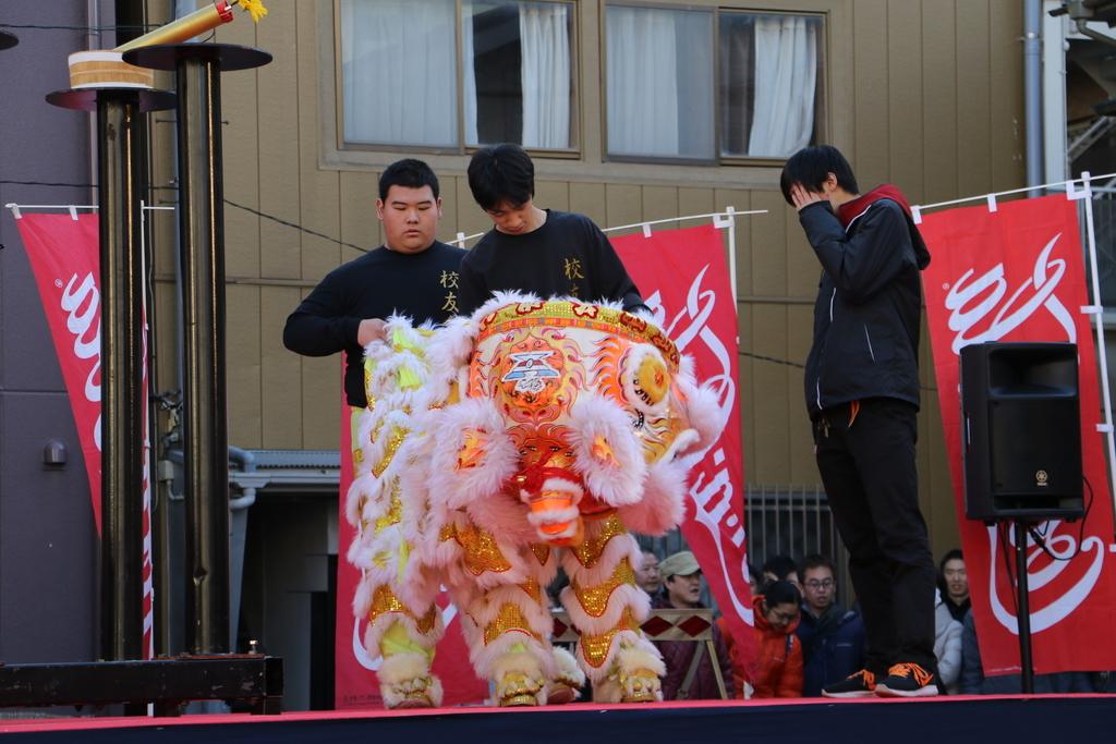 横濱中華學院校友会の獅子舞(1)_6