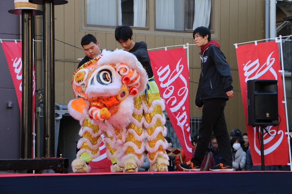 横濱中華學院校友会の獅子舞(1)_7
