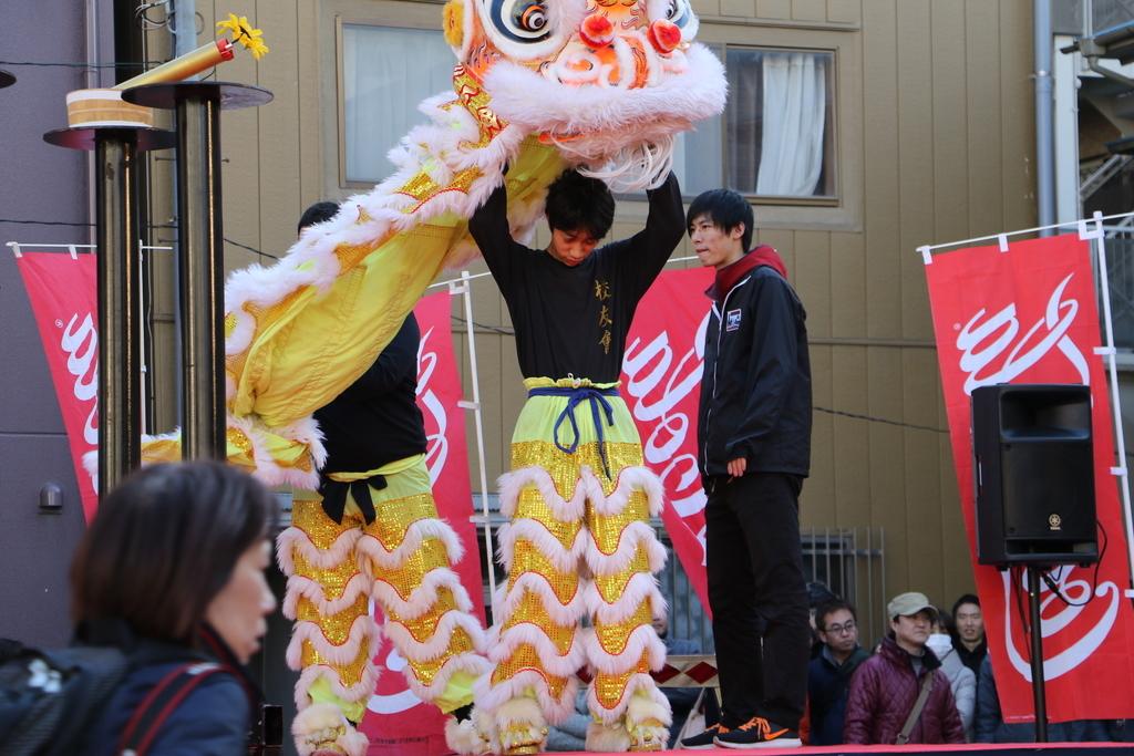 横濱中華學院校友会の獅子舞(1)_8