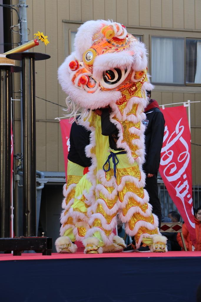横濱中華學院校友会の獅子舞(1)_13