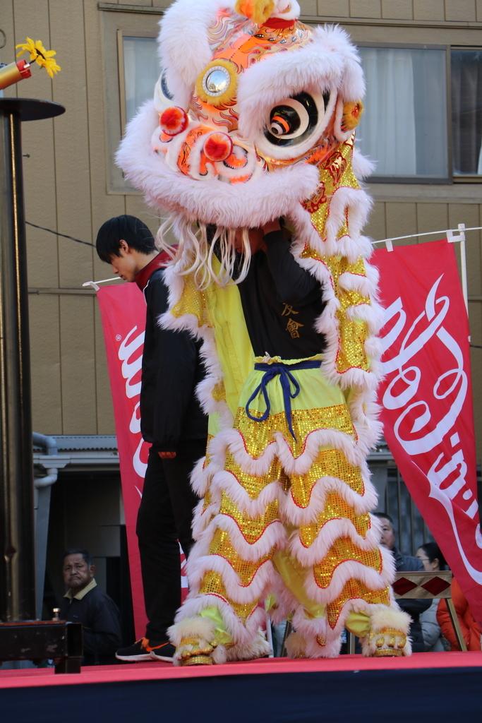 横濱中華學院校友会の獅子舞(1)_16