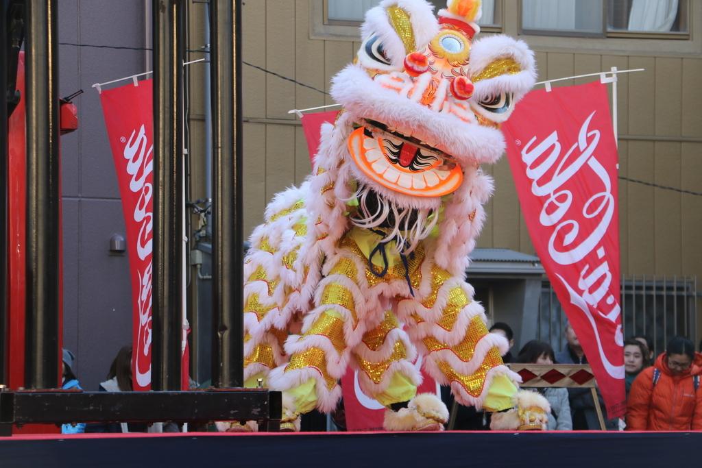 横濱中華學院校友会の獅子舞(2)_3