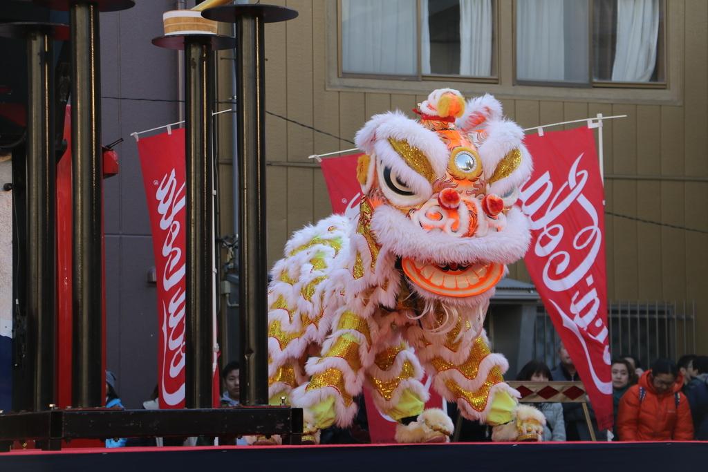 横濱中華學院校友会の獅子舞(2)_4