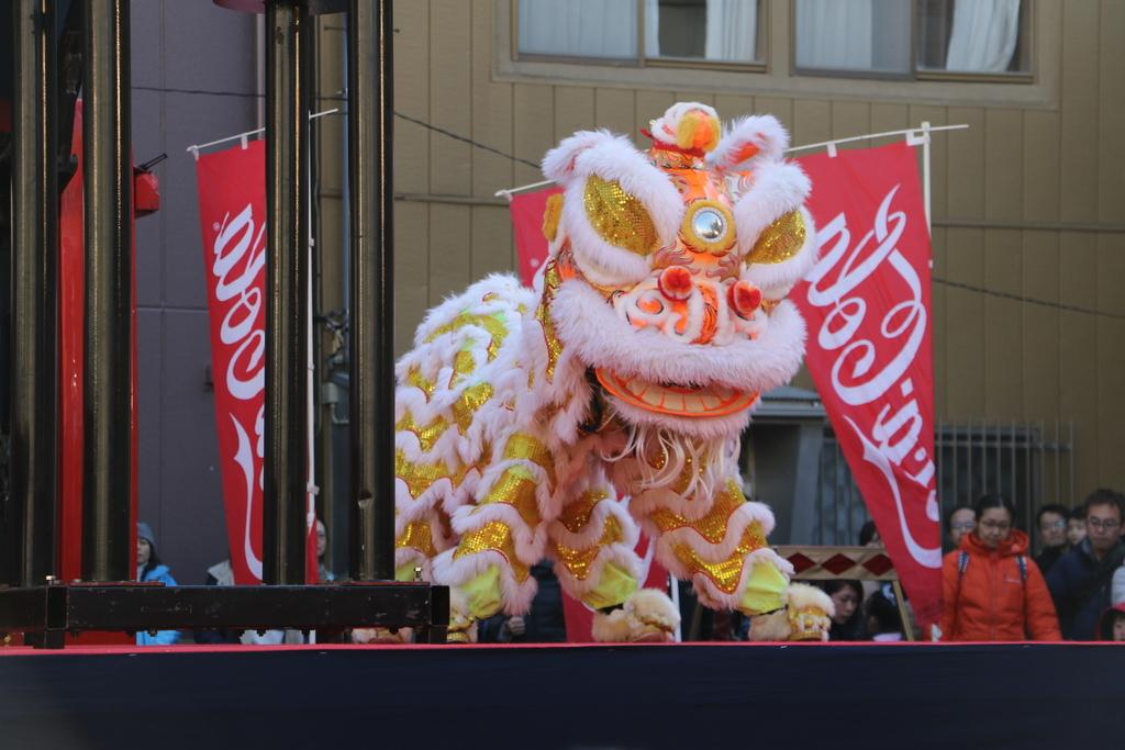 横濱中華學院校友会の獅子舞(2)_5