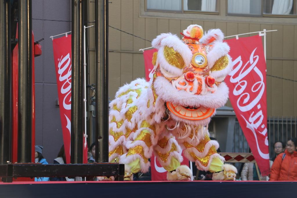 横濱中華學院校友会の獅子舞(2)_6