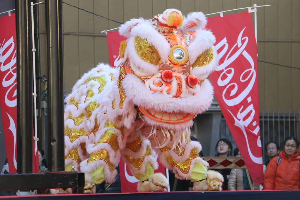 横濱中華學院校友会の獅子舞(2)_7