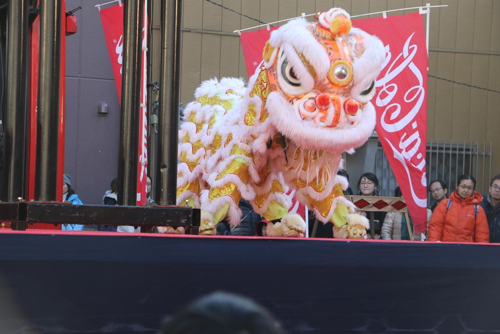 横濱中華學院校友会の獅子舞(2)_19
