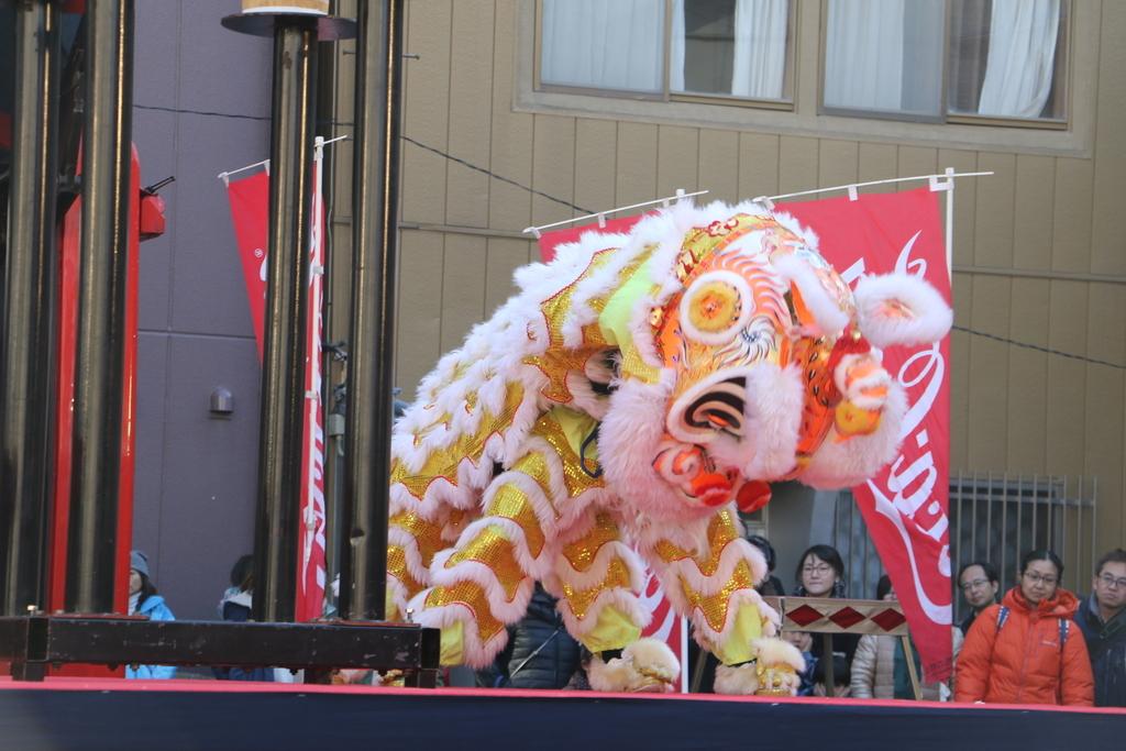 横濱中華學院校友会の獅子舞(2)_20