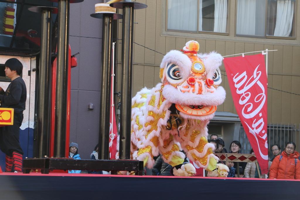 横濱中華學院校友会の獅子舞(2)_23