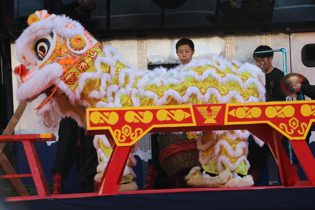 横濱中華學院校友会の獅子舞(3)_8