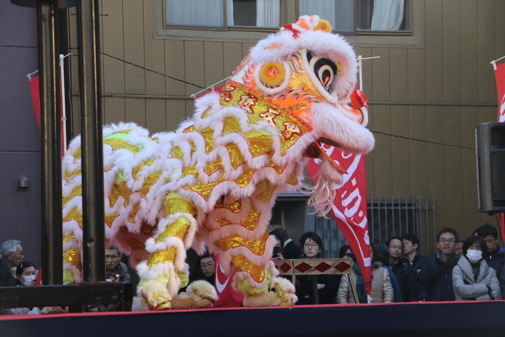 横濱中華學院校友会の獅子舞(3)_20