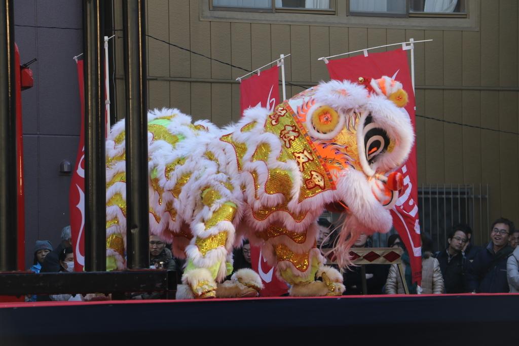 横濱中華學院校友会の獅子舞(3)_21