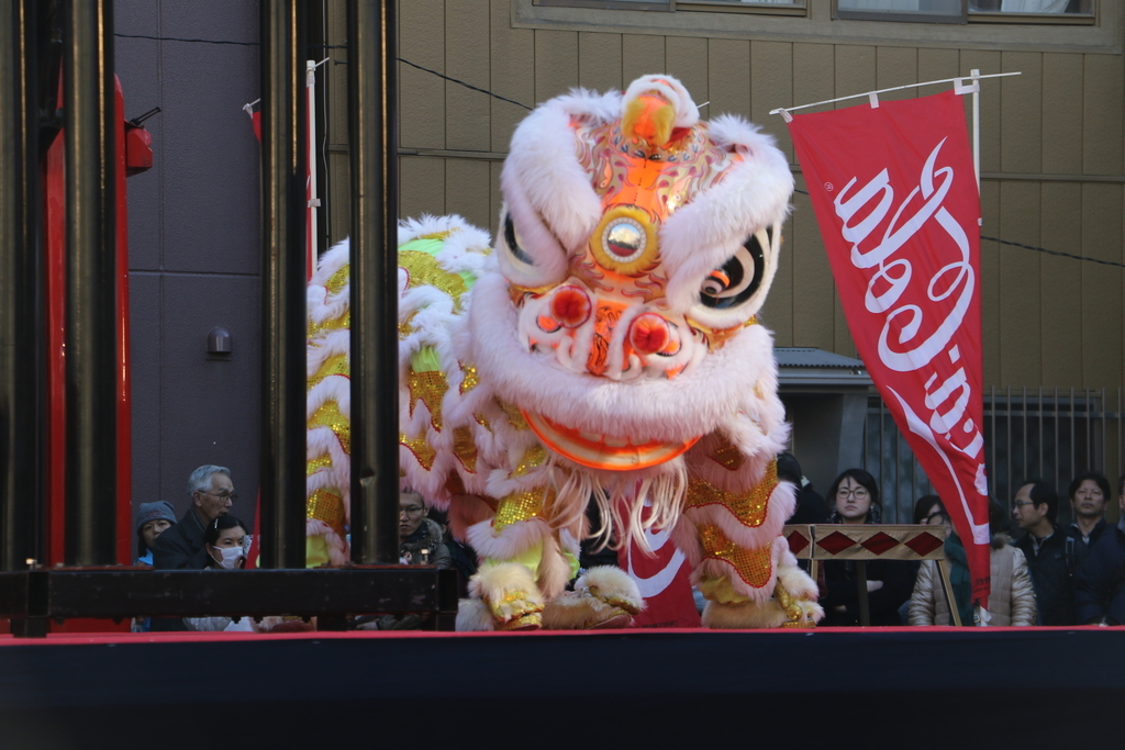 横濱中華學院校友会の獅子舞(3)_22