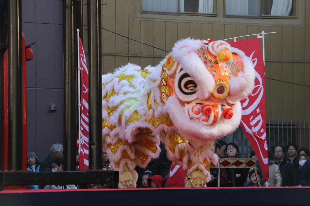 横濱中華學院校友会の獅子舞(3)_30