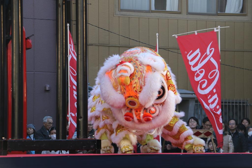 横濱中華學院校友会の獅子舞(3)_31