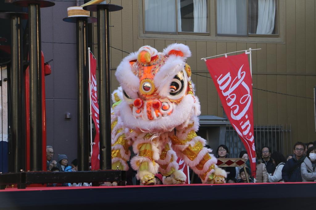 横濱中華學院校友会の獅子舞(3)_37
