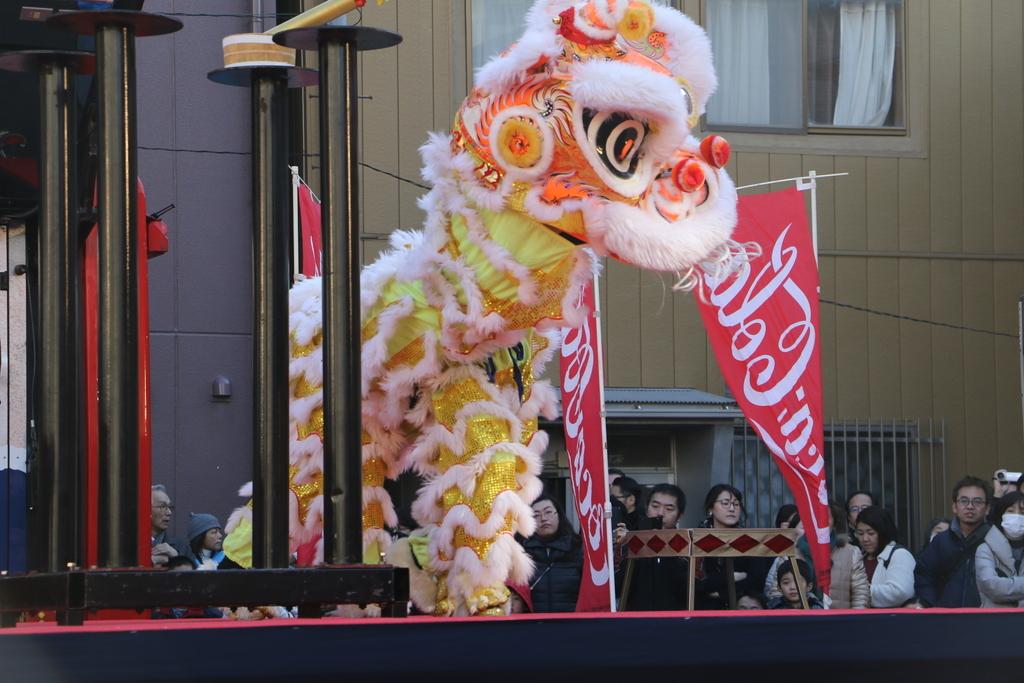 横濱中華學院校友会の獅子舞(3)_38