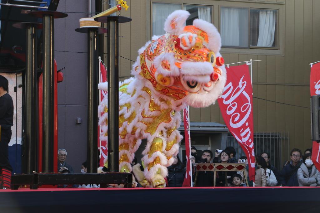 横濱中華學院校友会の獅子舞(3)_40