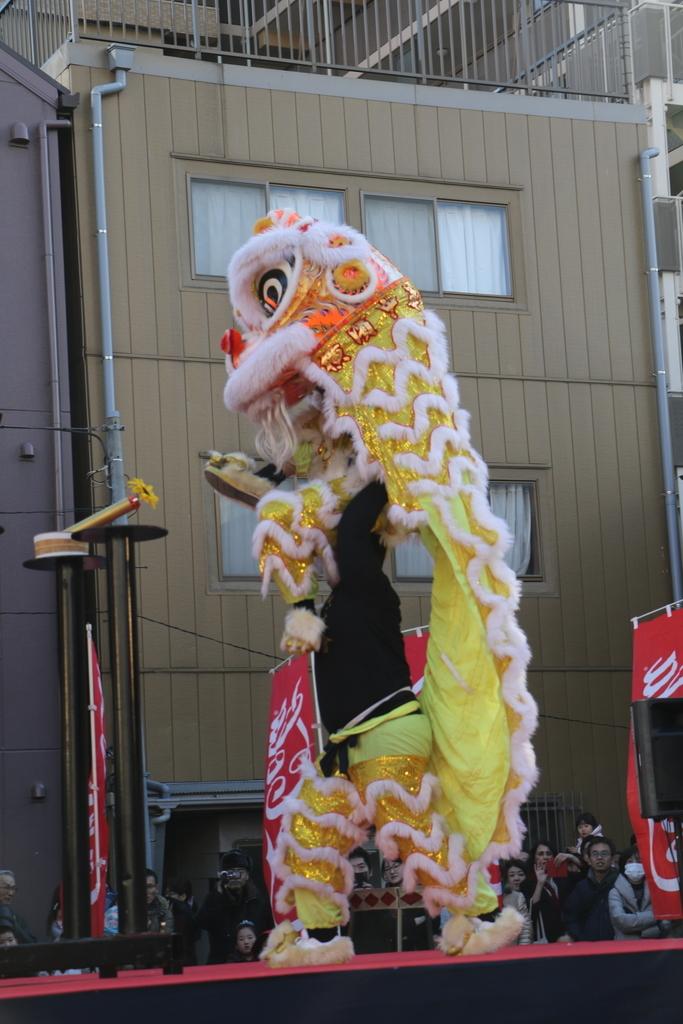 横濱中華學院校友会の獅子舞(3)_45