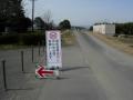 180303木津川CRの通行止め迂回指示