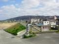 180310石川橋を渡り、東岸の堤防を進んでみる