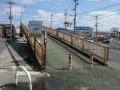 180310小泉への自転車激坂高架橋(^^;