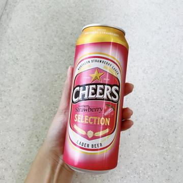 Cheers Beer strawberry (1)