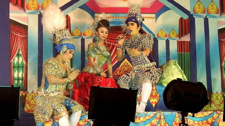 Musical folk drama