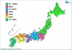 日本地図 全国地図