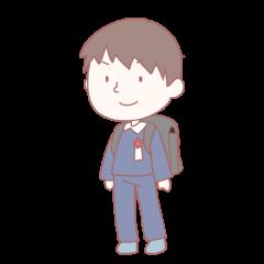 小学生 男子