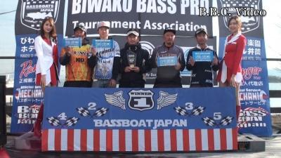 B.A.I.T.第1戦表彰式(YouTubeムービー)