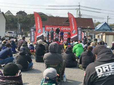 ビワコオープン第1戦 表彰式